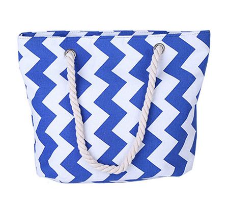 65610c9ab090 Wholesale Striped Canvas Beach Bags Cheap