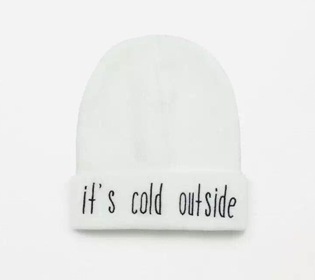9ff8fd2da84 It s Cold Outside Beanie Hat Wholesale