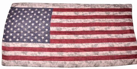 Distressed America Flag Scarf